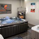 Caldera spas on display