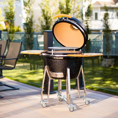 Ceramic grills available at Outdoor Living, Collierville, Memphis TN