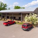 Parking available at Collierville store