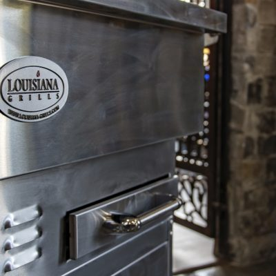 Louisiana grills available at Outdoor Living store