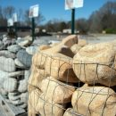 Landscaping pebbles, rocks and stones