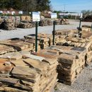 Slabs and stones for landscaping