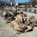 Stone slabs in stock